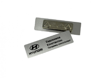 магнитные бейджи для автосалона Hyundai