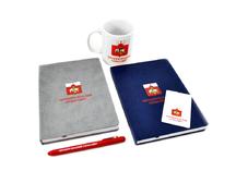 Ежедневники, кружки, ручки, флешки для Чернореченского сельсовета