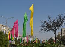 флаги расцвечивания в Оренбурге