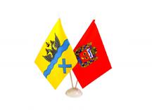 настольные флажки Оренбурга и Оренбургской области