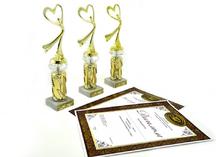 Награды и грамоты для Ассоциации женщин-предпринимателей России