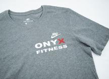 флекс: нанесение на футболку для Оникс Фитнес