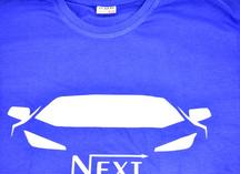 печать логотипа на футболке методом термопереноса