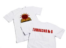 Термоперенос на белую футболку