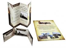 Буклеты и листовки для музея истории г. Оренбурга