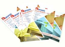 рекламный буклет: двусторонняя полноцветная печать, дизайнерский картон
