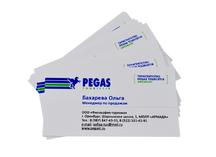 Визитки для Пегас туристик