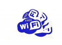 наклейки WiFi