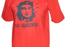 футболка красная с портретом Че Гевары