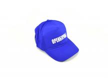 """бейсболка синяя с надписью """"Оренбуржье"""""""