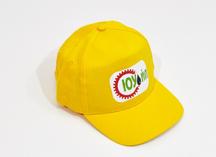 Бейсболка желтая с полноцветным нанесением