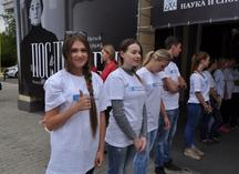 """футболки для волонтеров фестиваля """"Восток-Запад. Классика и авангард"""""""