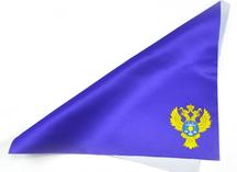 платок в карман с гербом, нанесение - сублимация