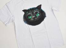 футболка белая х/б с полноцветным нанесением