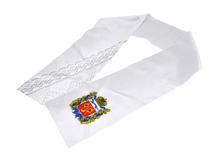 """Атласный шарф на федеральный этап """"Абилимпикс-2018"""""""