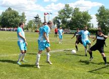 футболисты в форме от Спорт-Проекта на соревнованиях