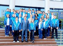 Парадная спортивная форма для Министерства спорта и туризма на туриаду в Саратове