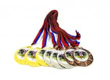 медали с полноцветными шильдами