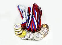 Медали футбольные, бронза