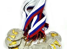 Медали футбольные, серебро