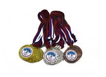 Медали для Оренбургской мили