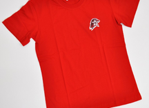 футболка красная х/б с логотипом Юнармии