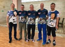 Сублимационные футболки для космонавтов и астронавтов МКС