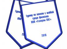 вымпелы для ООО Газпром ПХГ